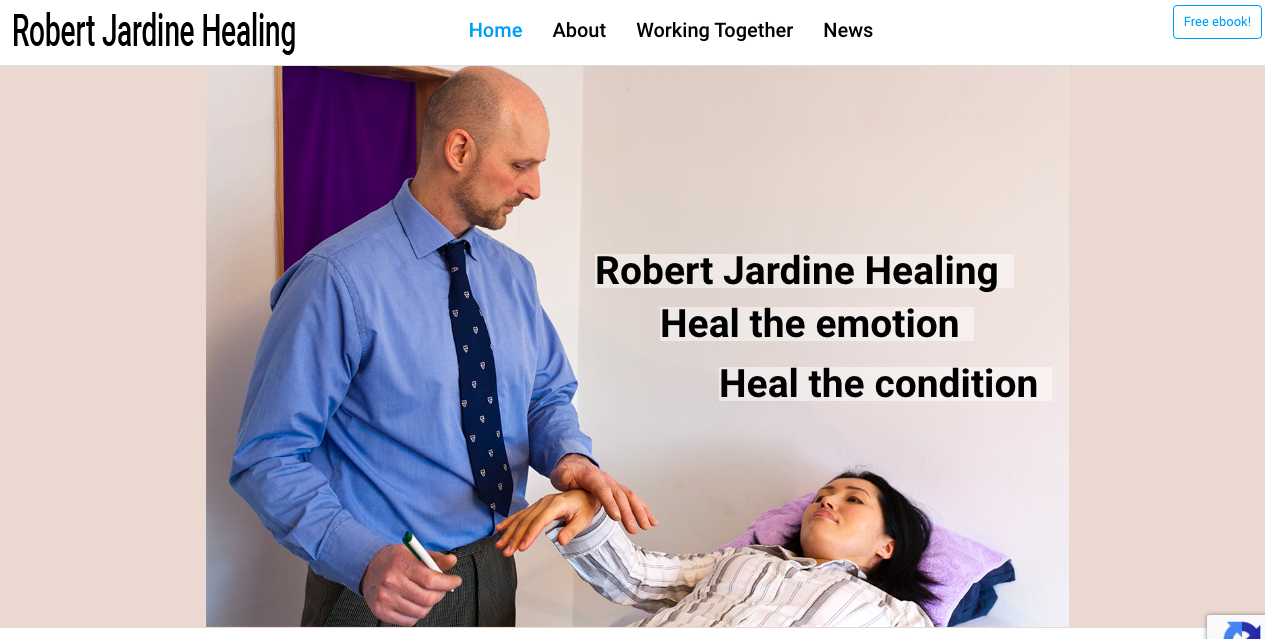Welcome to Robert Jardine Healing!